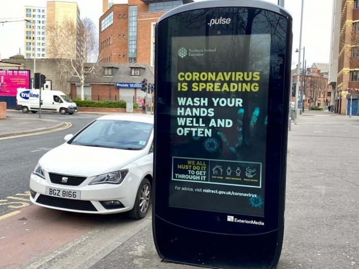Coronavirus is spreading Executive Office public awareness