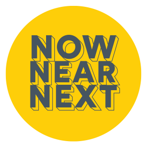 Now, Near, Next logo